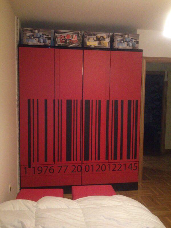 Actualizar un mueble con vinilo stica vinilos decorativos - Vinilos para decorar armarios ...
