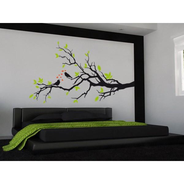 1000 images about spaces on pinterest naturaleza deco for Vinilo cabecero cama