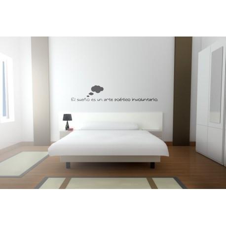 El sueño es... decoración con vinilo
