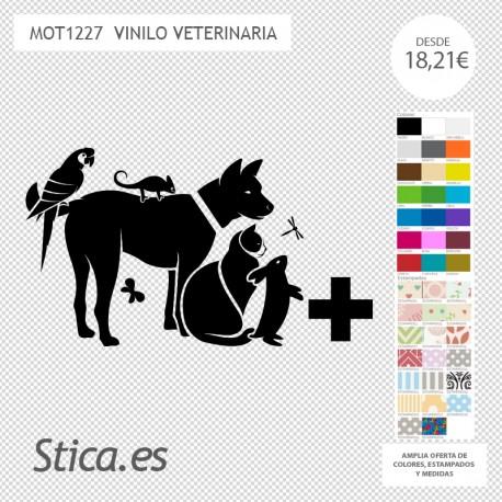 vinilo veterinario