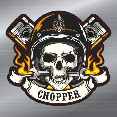pegatina chopper