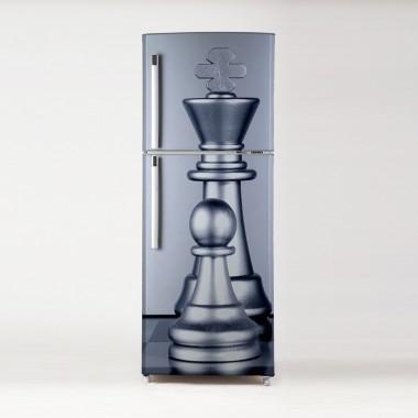 pegatina para frigo motivo ajedrez
