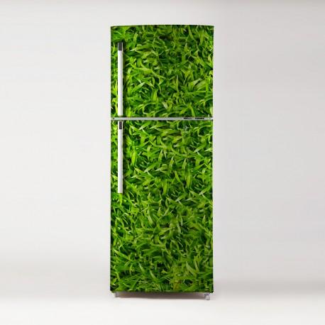 pegatina para frigo motivo hierba
