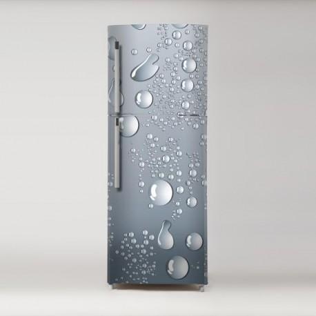 pegatina para frigo motivo gotas