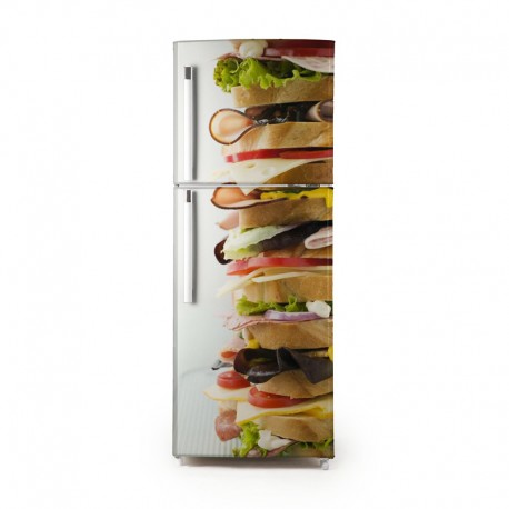 Pegatina frigo sandwich