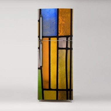 Pegatina frigo vidriera