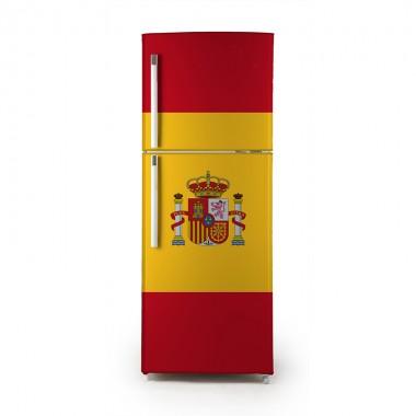 Pegatina frigo bandera España