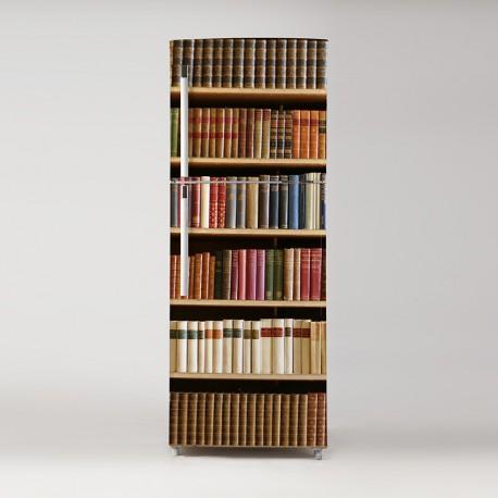 Pegatina frigo biblioteca