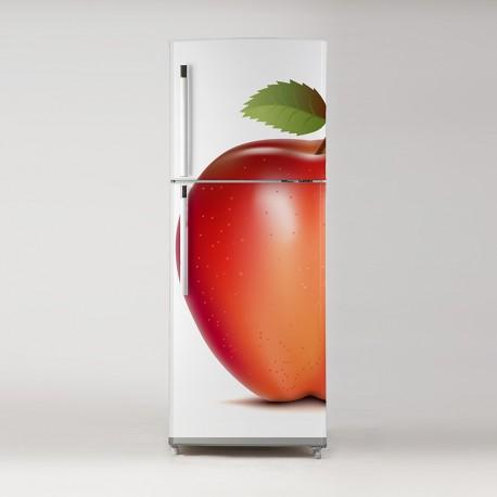 Pegatina frigo manzana