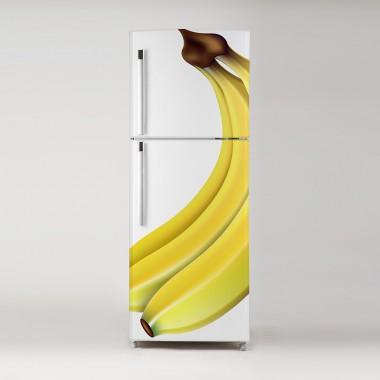 Pegatina frigo plátanos