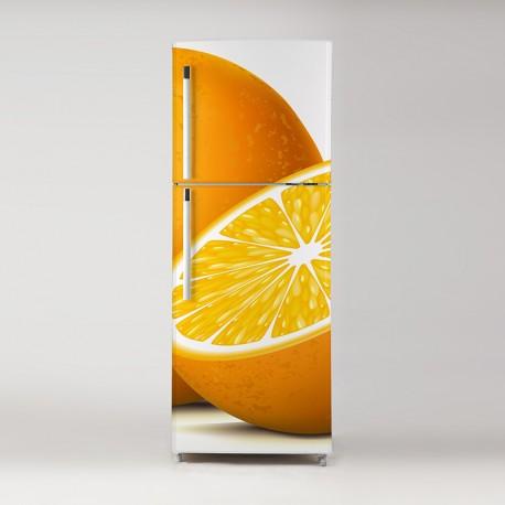 Pegatina frigo naranjas