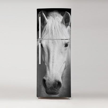 Pegatina frigo caballo