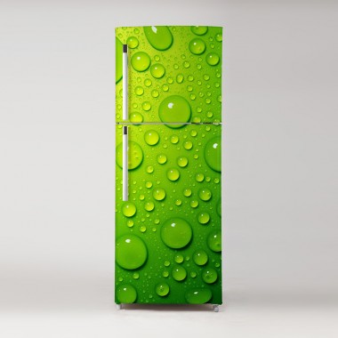 Pegatina frigo gotas lima