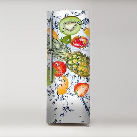 Pegatina frigo frutas
