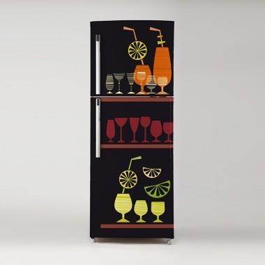 Vinilo frigo refrescos