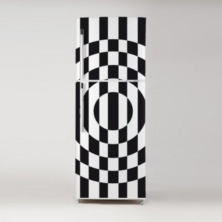 Vinilo vintage geometría