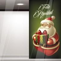Vinilo Papa Noel Reposicionable