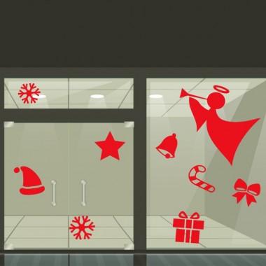 Escaparate navidad motivos