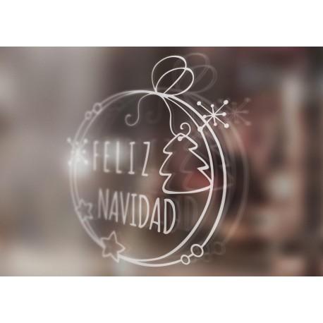 Vinilo Feliz Navidad o Bon Nadal