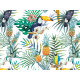 vinilo-para-mesa-aves-tropicales
