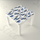 vinilo-para-mesa-plumas-azules-1