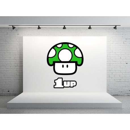 pegatina-one-up-videojuego-5