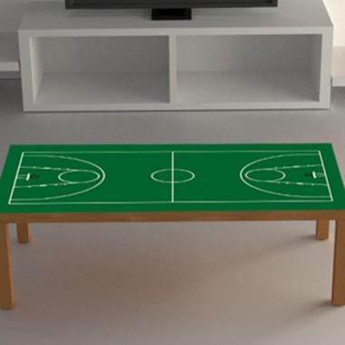 Vinilo mesa baloncesto