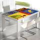 adhesivo decorativo mesa tribal