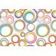 Vinilo mesa círculos color