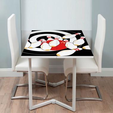Adhesivo mesa bolos decorativo