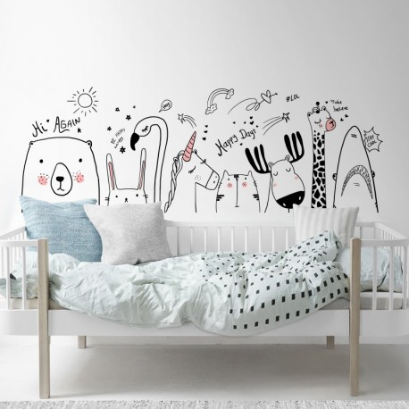 Pegatina decorativa pared infantil
