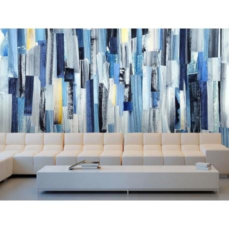 Fotomural salón Arte Azul