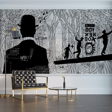Fotomurales: recibidor Arte Urbano