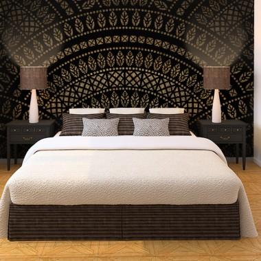 Fotomurales: dormitorio Mandala Tribal