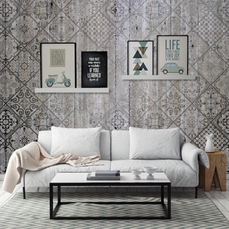 Fotomurales: hormigon mosaico