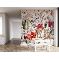 Fotomural floral Holanda