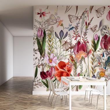 Fotomurales: floral holanda