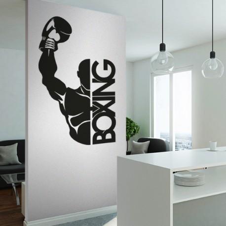 Vinilos decorativos: boxeo
