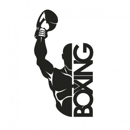 Vinilos decorativos: boxeo 1
