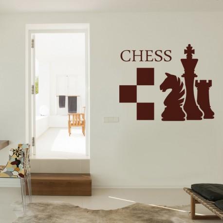 Vinilos decorativos: ajedrez chess