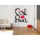 Vinilos decorativos: poder femenino