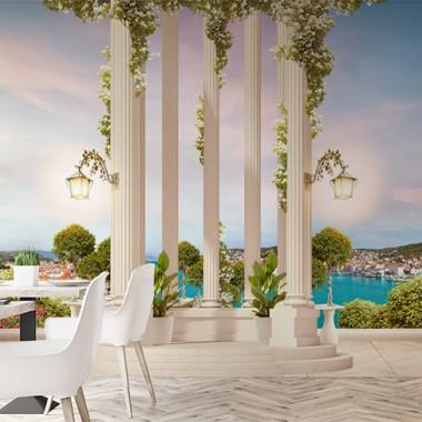 Fotomurales: restaurantes jardin romantico