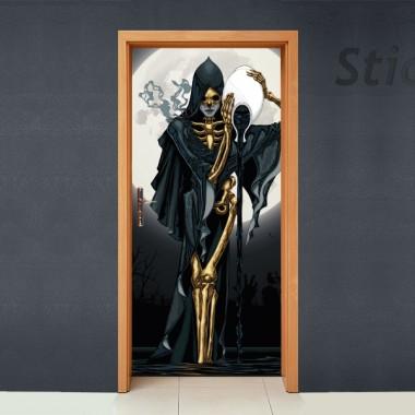 Vinilos decorativos: puerta Creepshow ambiente