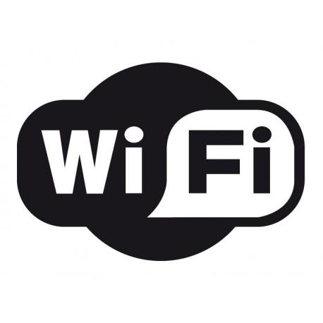 vinilo decorativo Símbolo Wifi