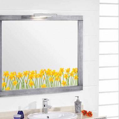 Vinilos flores para espejos stica vinilos decorativos - Vinilos para espejos ...