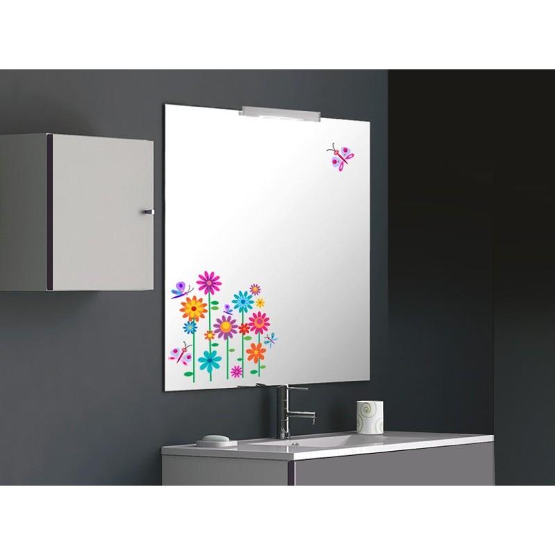 Vinilo primavera para espejo for Vinilos adhesivos para cristales