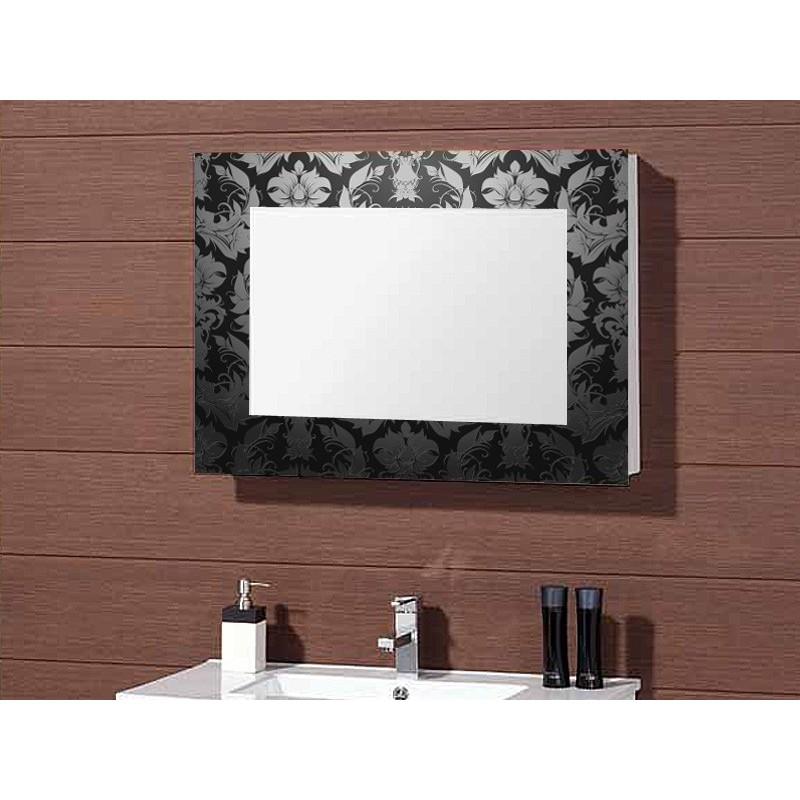 Vinilo marco para espejo for Ver espejos decorativos