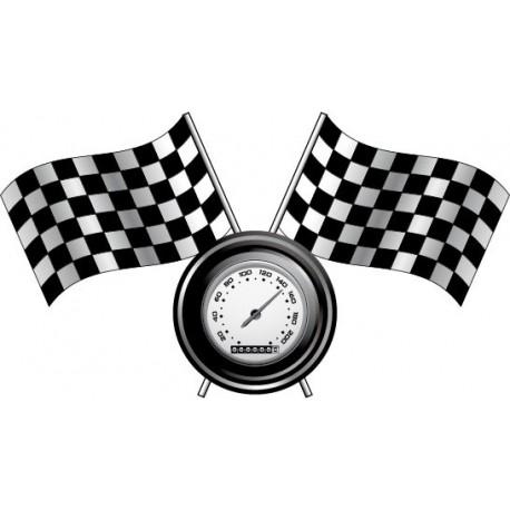 vinilos imagen producto Meta Racing Pared