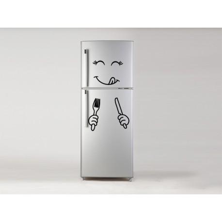 Vinilo hora de comer en frigo
