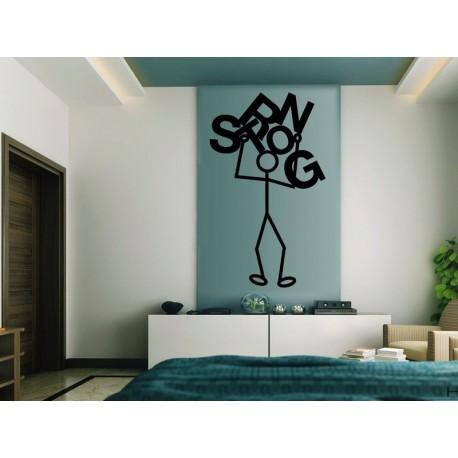 Sticando Strong adhesivo decorativo ambiente